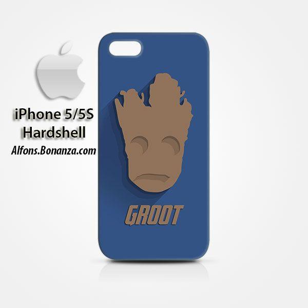 Groot Superhero iPhone 5 5s Hardshell Case Cover