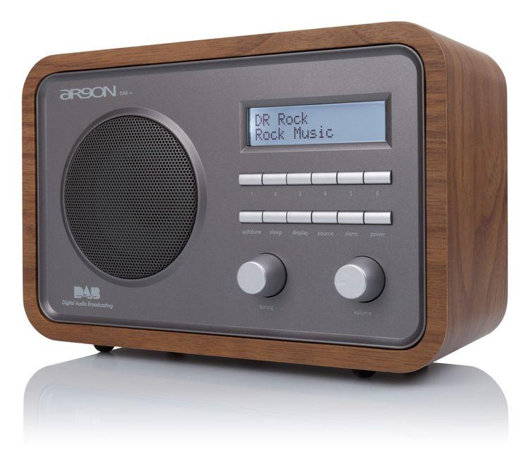 ARGON DAB1 v4 DAB/FM bordradio | Hi-Fi Klubben