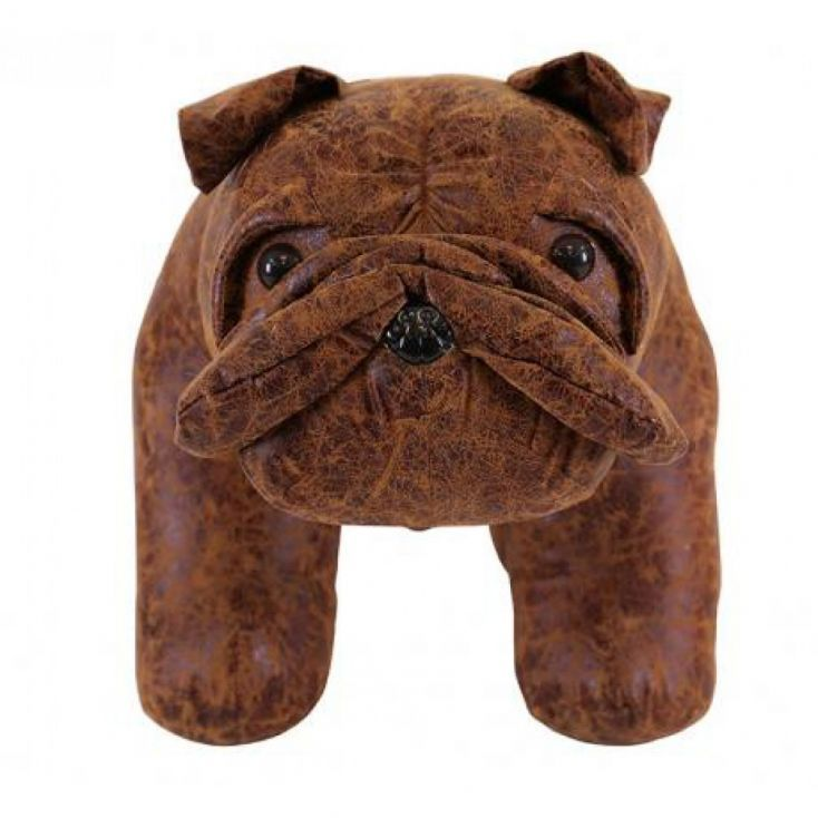 The Bulldog Stool Printing On Fabric Cute Animals Stool