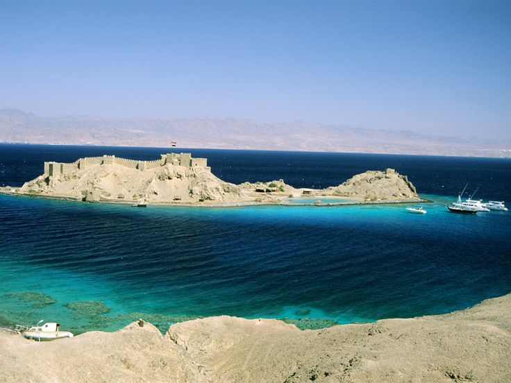 Salah El-Din Fortress on Pharaoh Island-Taba | Egyptian Tourism Authority