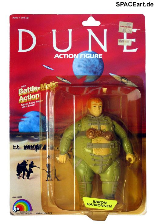 Dune - der Wüstenplanet: Action-Figuren Set, Action-Figuren ... http://spaceart.de/produkte/dwp004.php
