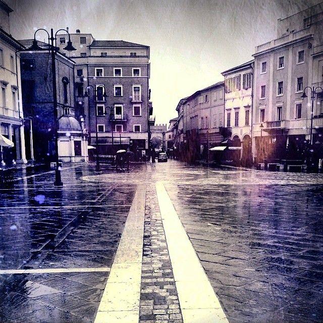 Piazza Tre Martiri #Rimini