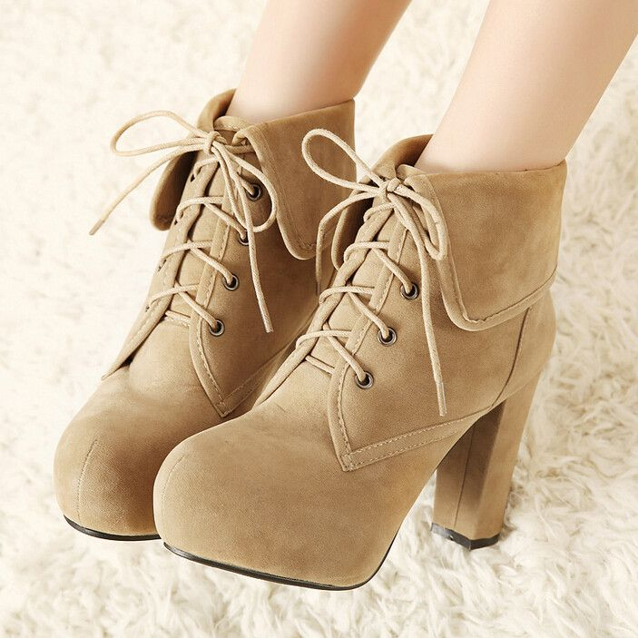 Women's fashion high heels/Martin boots