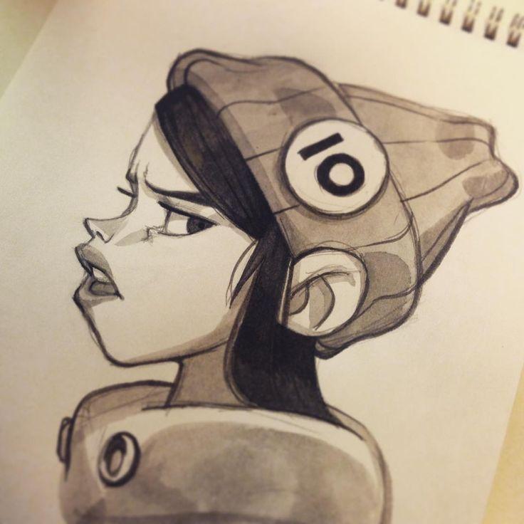 """"""" #inktober 10 #girls"""" by Anna Cattish"""
