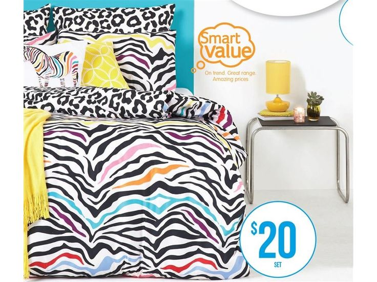 Smart Value Wild 5-Piece Quilt Cover Set
