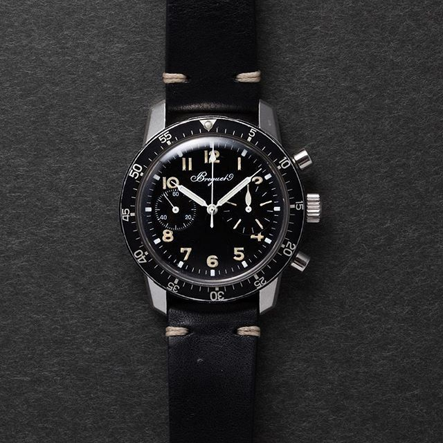 Super Rare Breguet Type 20 From S Song Watches Check His Actual Watches For Sale Follow Vintagewatc Vintage Watches Watch Sale Leather Watch