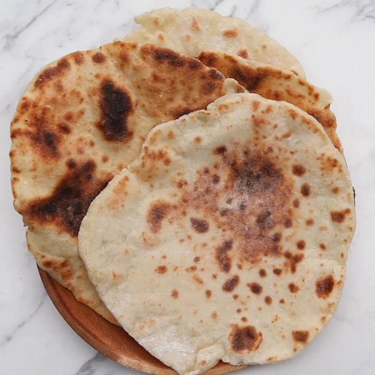 Two-ingredient Flatbread Recipe by Tasty