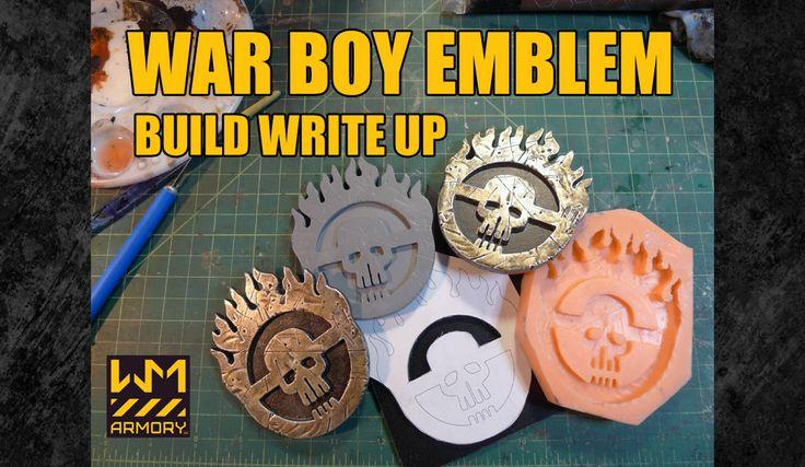 Making a War Boy Symbol