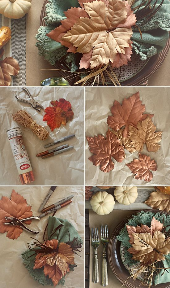 The Fall Place Setting That Will Set Your Table Apart