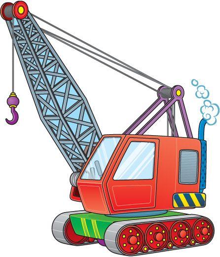 Truck Crane Clipart Crane clip art