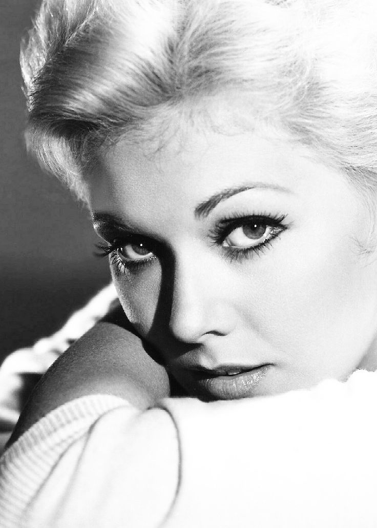 Kim Novak is an American actress. She began her career in 1954 at age 21, and came to prominence almost immediately with a leading role in the film Picnic. Other films from this period of her career include The Man With the Golden Arm, Pal Joey, Jeanne Eagels, the Alfred Hitchcock film Vertigo, Bell, Book and Candle, and Middle of the Night. After a decade in the entertainment industry, she withdrew from the public eye in 1966 and appeared in films only sporadically until 1991.