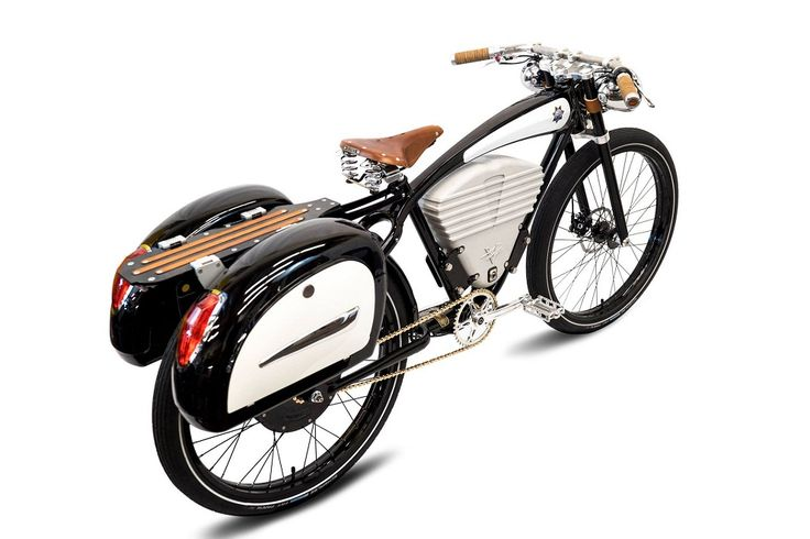 Vintage-Style Electric Bicycles (4) Classic Car Art&Design @classic_car_art #ClassicCarArtDesign