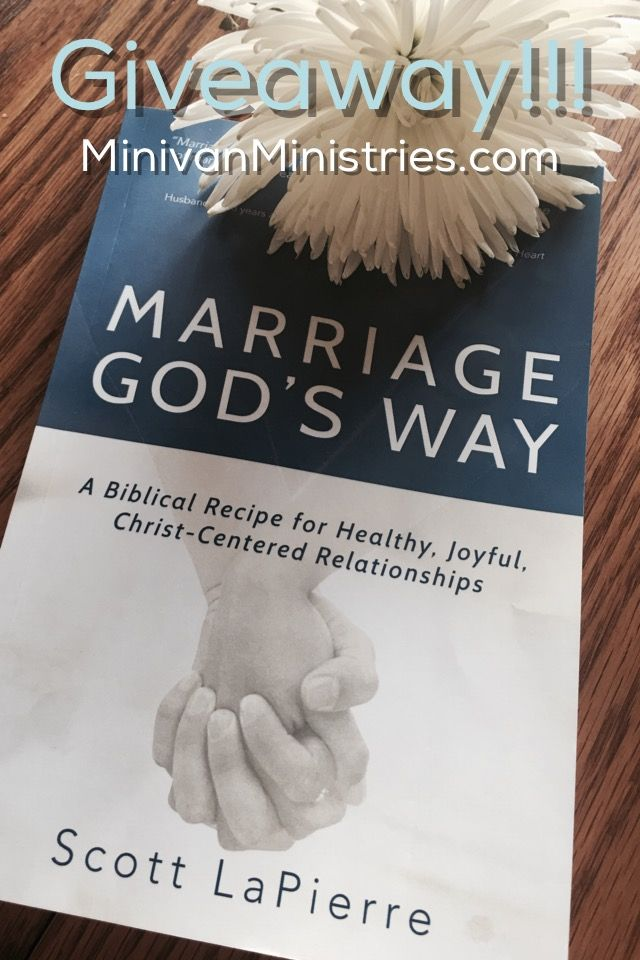 I love playing with words.  I love hearing ideas in unique ways.  I love it when someone says an old concept with a new and interesting twist.  I just have to write it down.  That is what reading Marriage God's Way: A Biblical Recipe for Healthy, Joyful, Christ-Centered Relationships was like for me. Hearing Biblical …