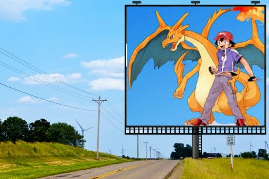 pokemon ash and mega charizard
