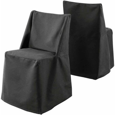 sure fit cotton duck folding dining chair slipcover black - Walmart Fold Up Chairs