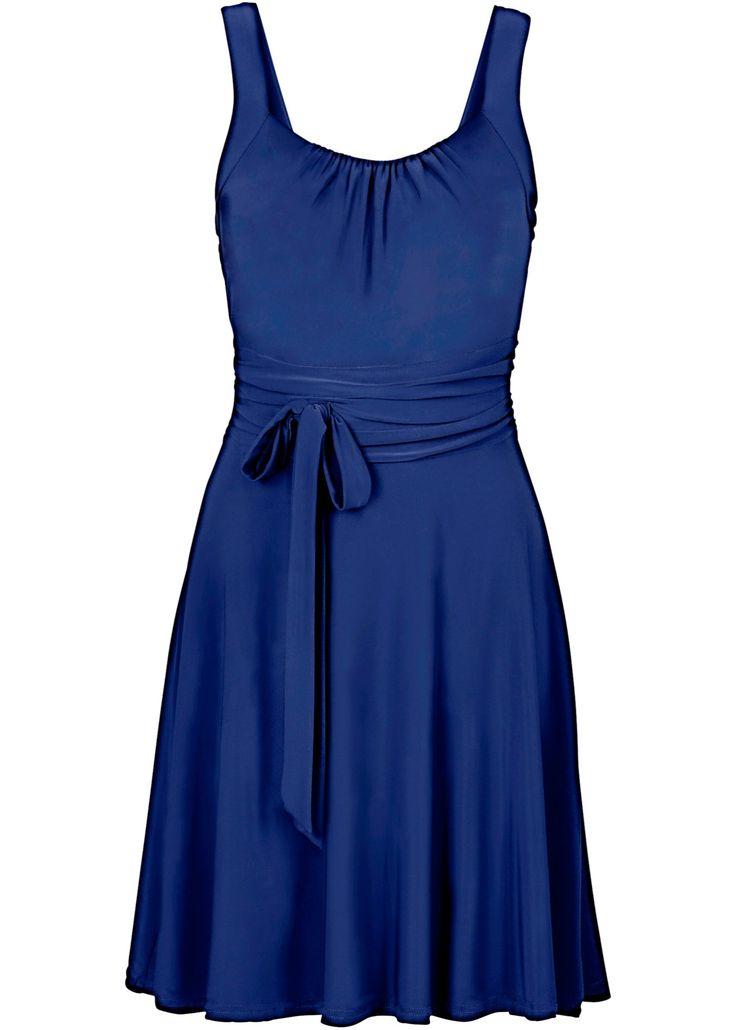 Vestido com amarração azul escuro encomendar agora na loja on-line bonprix.com.br  R$ 69,90 a partir de Para uma festa ou uma ocasião especial, vale a pena ...