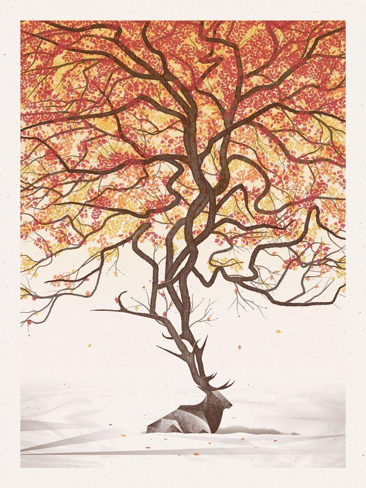 Elk by DKNG Studios (via rugenius http://www.notcot.org/post/52564/)