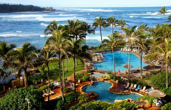 Turtle Bay Resort on the North Shore, Oahu, Hawaii, USA.