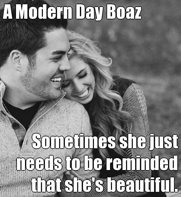 Boaz dating advice