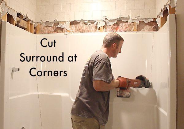 25 Best Ideas About Bathtub Surround On Pinterest