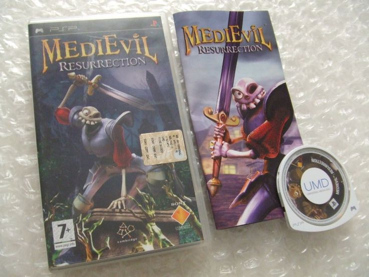 MEDIEVIL RESURRECTION - PSP Playstation Portable - ITALIANO - prima stampa