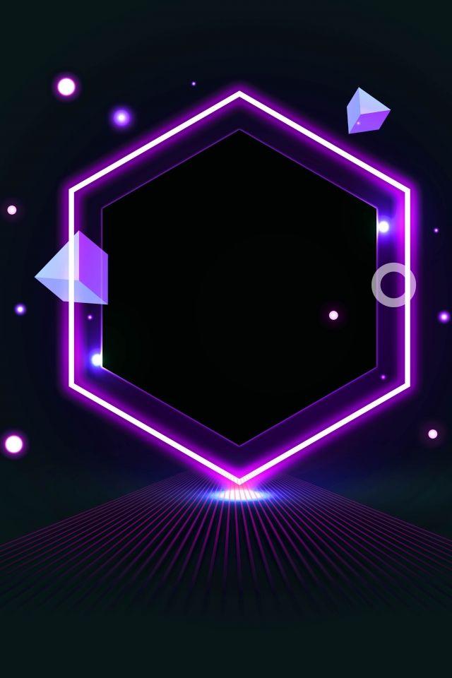 مصباح نمط خلفية ملصق الملصق خلفية مصباح بسيط العلوم والتكنولوجيا خط سعيد Background Patterns Background Purple Wallpaper