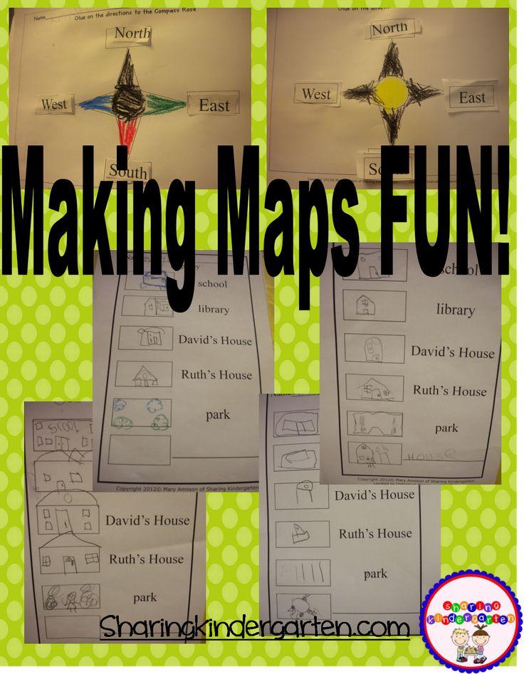 Sharing Kindergarten: Making Maps (Part 2}