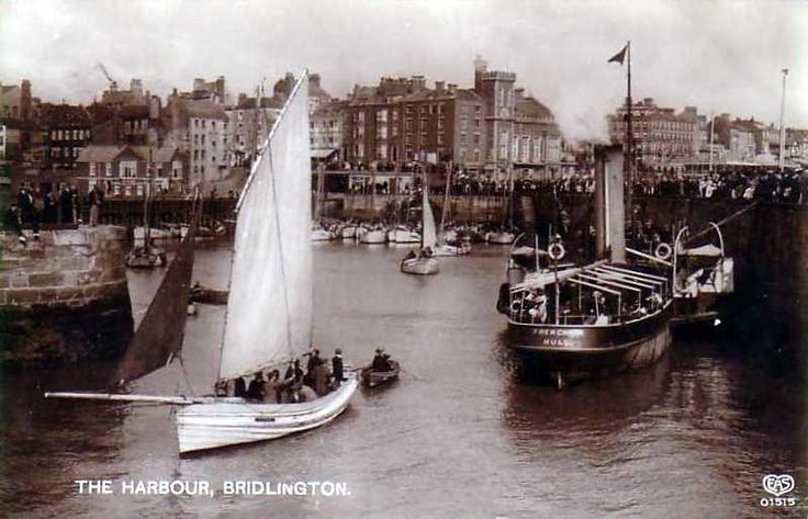 Bridlington is a town and sea fishing port in the county of Yorkshire in Northern England.