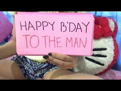 a9bd55d0a792 Birthday wishes Video for Boyfriend (birthday video for long distance  relationship) - YouTube