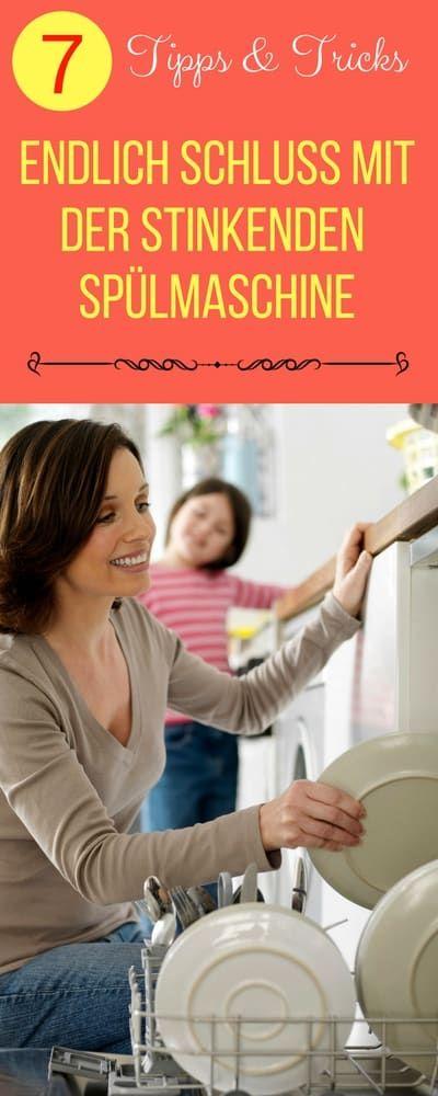 Waschmaschine und Spülmaschine reinigen. Tipps & Tricks