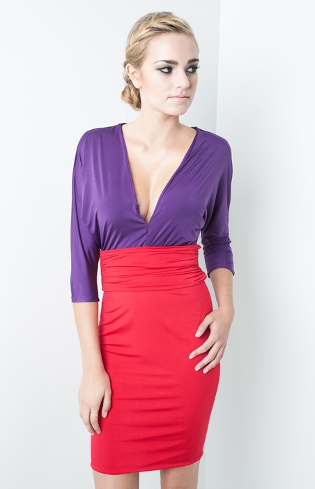Zoora Hairstyle : Purple colors, Color blocking and Purple on Pinterest