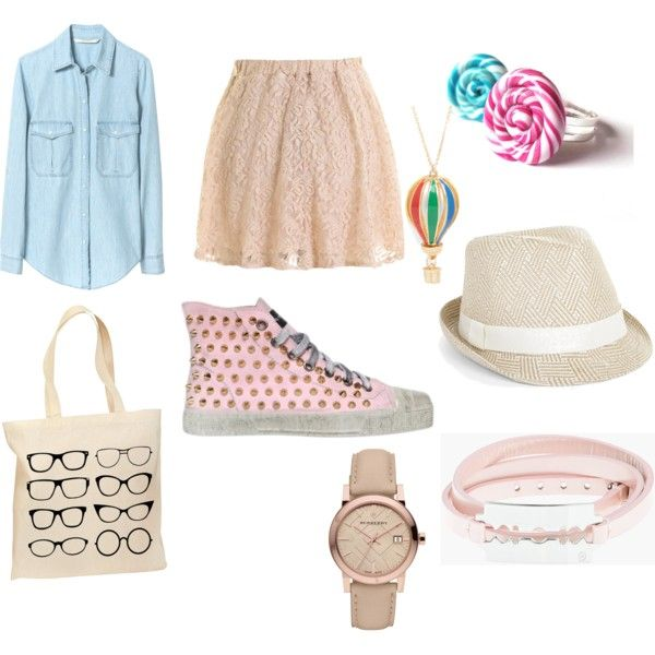 pink spring by iasemin1987 on Polyvore