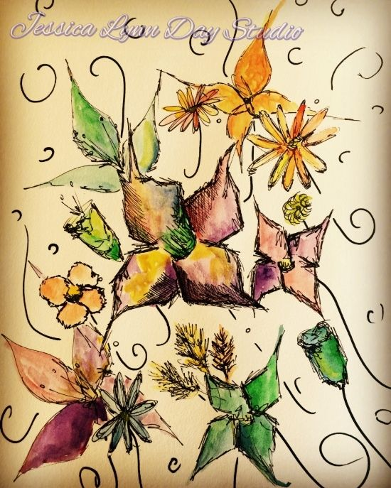 Fruitful Florals by Jessica Lynn Day Studio