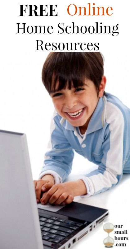 free online home schooling resources pin