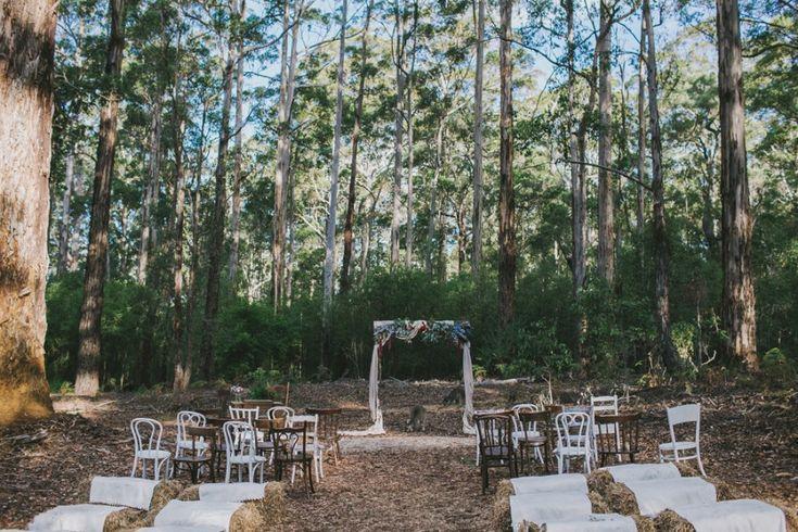 Australian bush wedding at Donnelly River   Photography by Jenna Mason