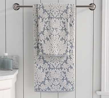 Best Bath Towels Striped Patterned Bath Towels Images On - Blue patterned towels for small bathroom ideas