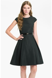 Ted Baker Ladi Fit Flare Dress in green