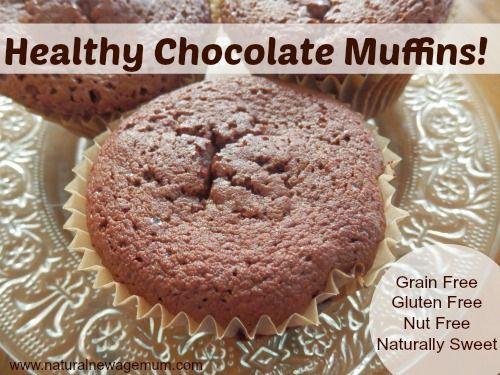 GF coconut flour choc muffins