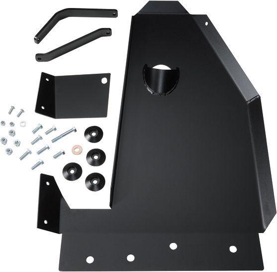 Rock Hard 4x4 Parts Oil Pan, Transmission & Catalytic Converter Skid Plate for 07-13 Jeep Wrangler & Wrangler Unlimited JK