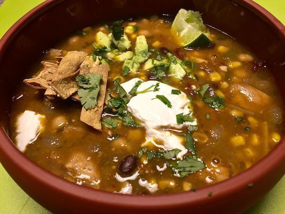 This Chicken Tortilla Soup recipe is authentic, easy, real good and gluten free.
