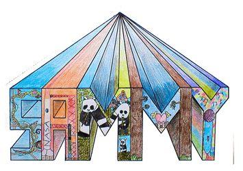 Phillip Martin's Upper Elementary Art Lesson - Perpsective Names