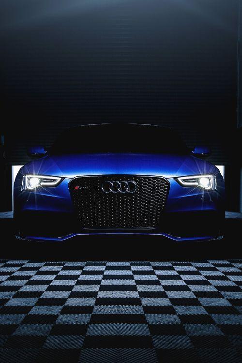 Visit The MACHINE Shop Café... ❤ Best of Audi @ MACHINE... ❤ (Sexy Blue Audi RS5 Supercoupé)