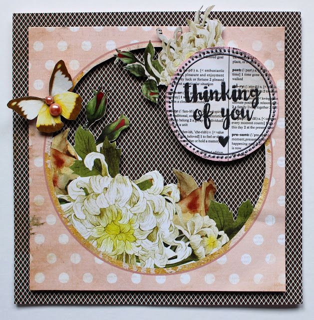 Kaisercraft Treasured Moments - Stamp and Die Card