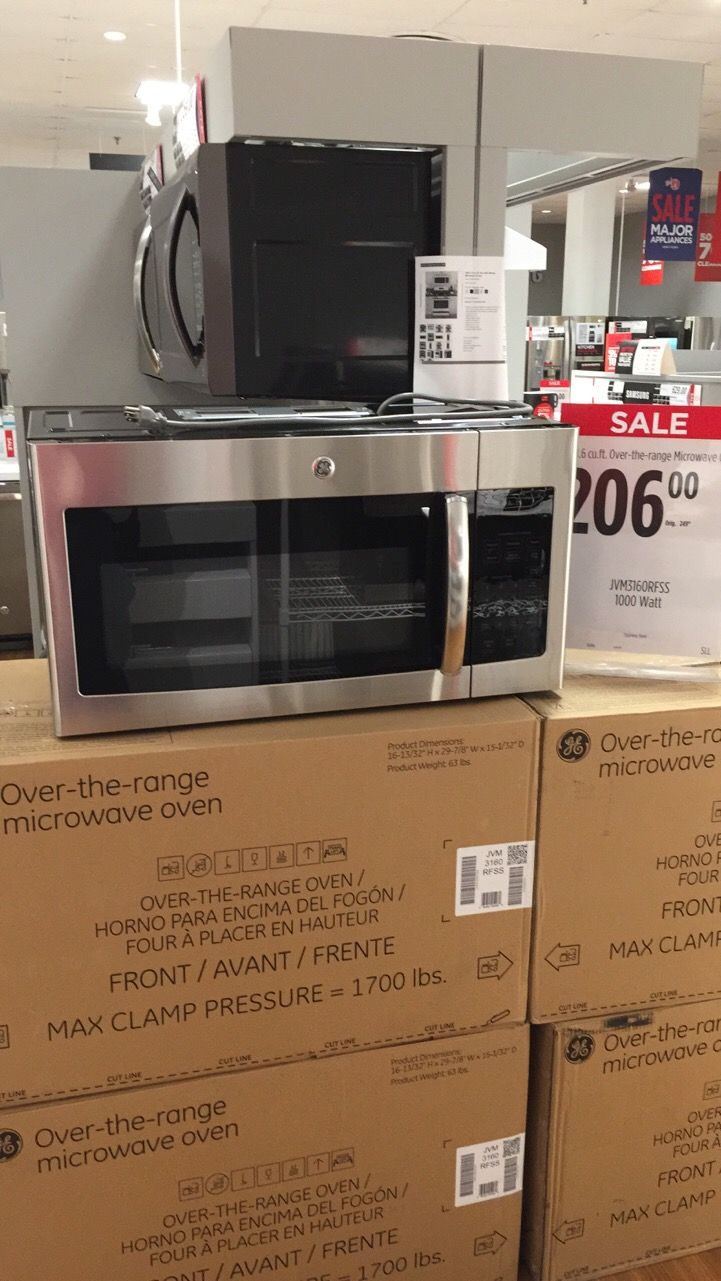 We now have a take home over the counter Microwaves.