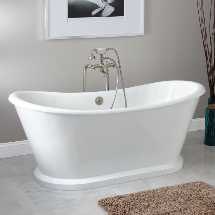 freestanding cast iron soaking tub. Durham Bateau Cast Iron Skirted Tub  Website For Inexpensive Freestanding Tubs 119 Best Bathtubs Images On Pinterest Soaking And