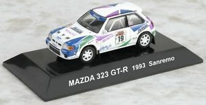 New 1/64 CMs RALLY CAR COLLECTION SS.15 Mazda 323 GT-R 1993 Sanremo