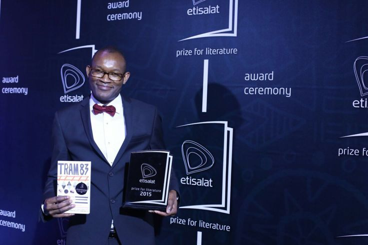 …Fiston Mwanza Mujila! Poet and novelist Fiston Mwanza Mujila was on Saturday, 19th March 2016, announced as the winner of the 2015 Etisalat Prize for Literature for his first novel, Tram 83.…