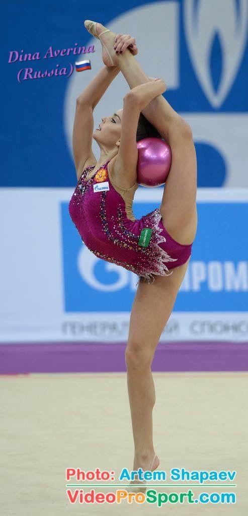 Dina AVERINA (Russia) ~ Ball @ GP Moscow 2017    Artem Sharpaev.