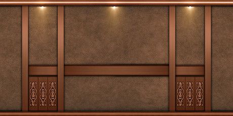 Second Life Marketplace Leather Brown Wall Texture