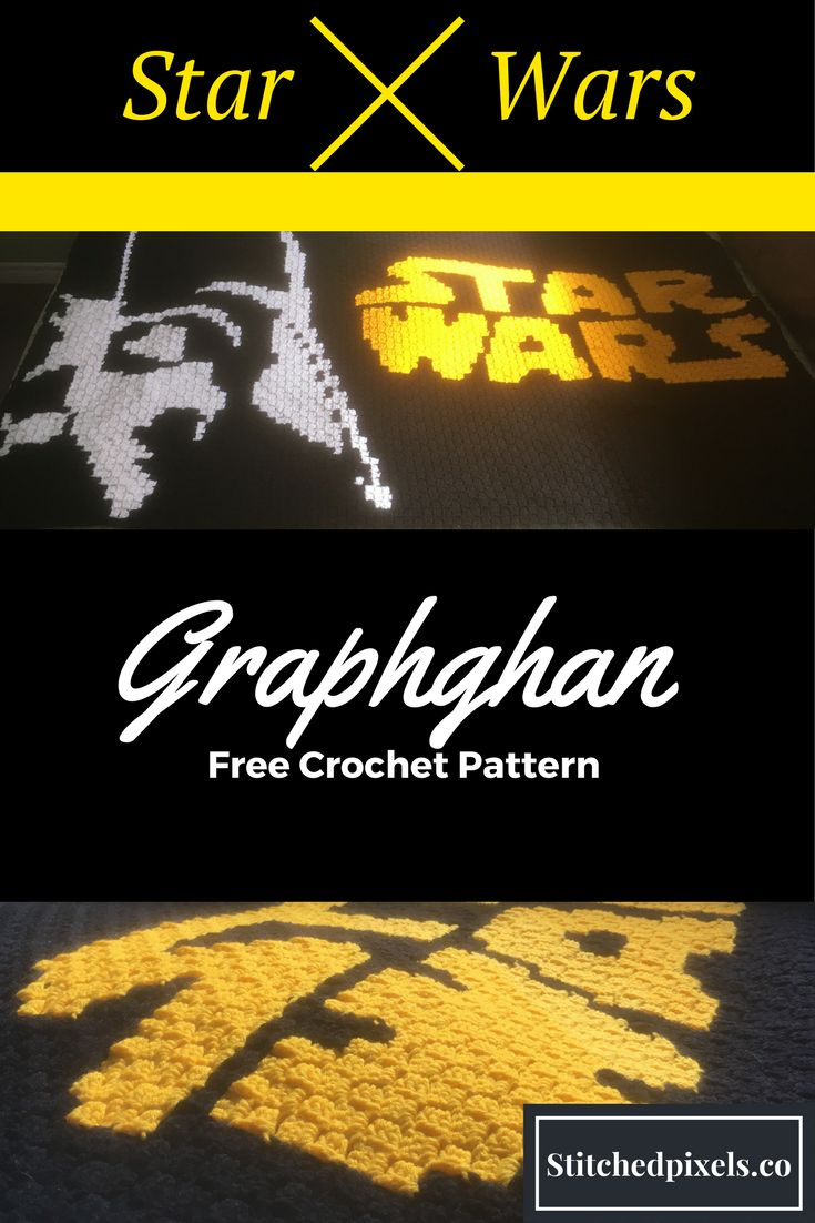 Surprise any Star Wars fan with this minimalist, modern pattern.